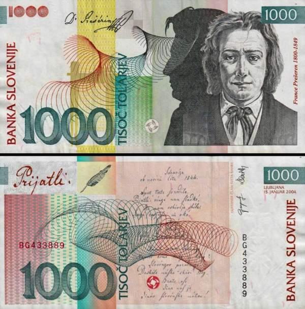 1000 Toliarov Slovinsko 2004, P32b