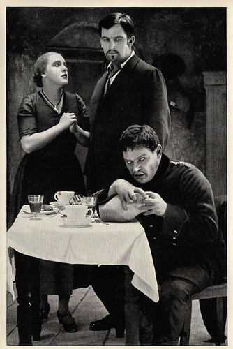 Henny Porten, Wilhelm Dieterle and Fritz Kortner in Hintertreppe (1921)