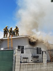 Heavy Fire Damages North Hollywood Home