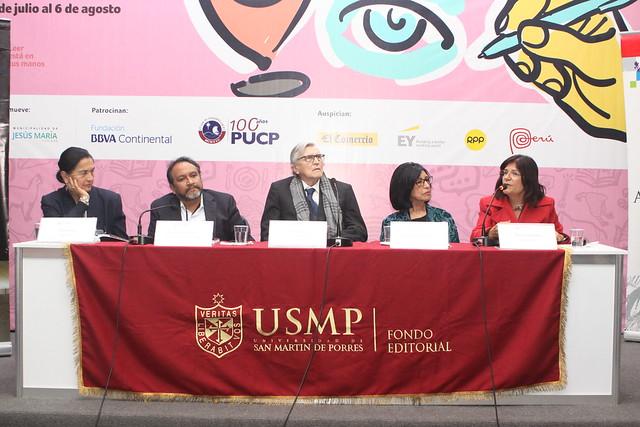 """""""Mujer, poder y alimentación en el antiguo Perú"""" de Maritza Villavicencio y el Fondo Editorial de la USMP fue presentado en la Feria Internacional del Libro 2017"""