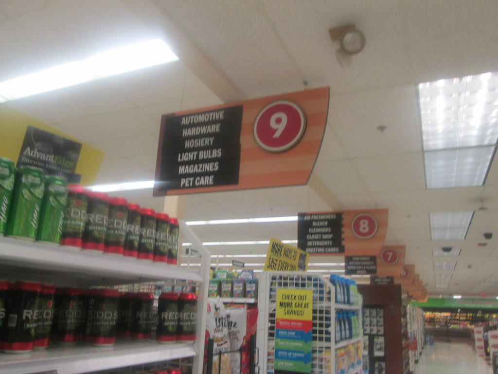 Aisle Signs | West Carthage, NY  August 2016