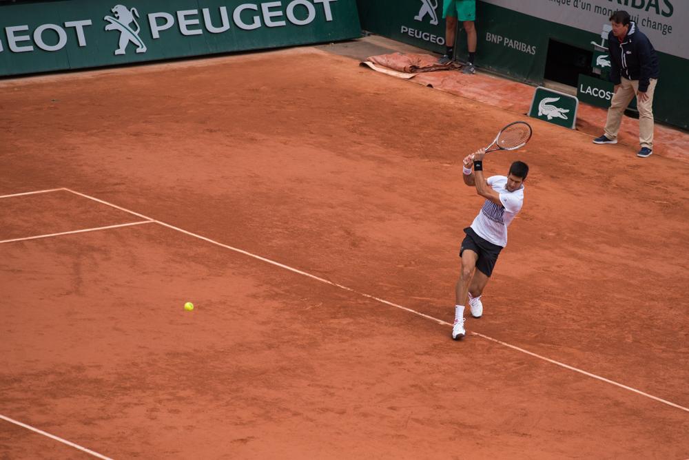 Djoko revers à Roland Garros