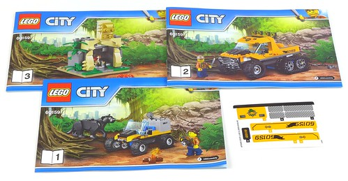 LEGO City 60159 Jungle Halftrack Mission 04