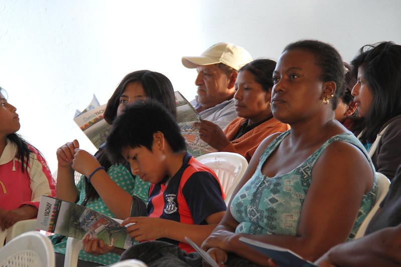 Taller de Educación Ambiental dirigido a las comunidades del polígono Yachay