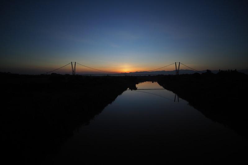 日出長壽橋|Sunrise