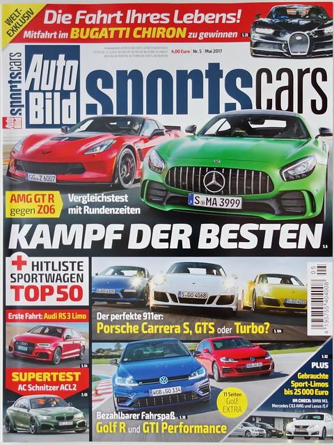 Auto Bild Sportscars 5/2017