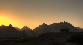 Sunset at Hingol National Park