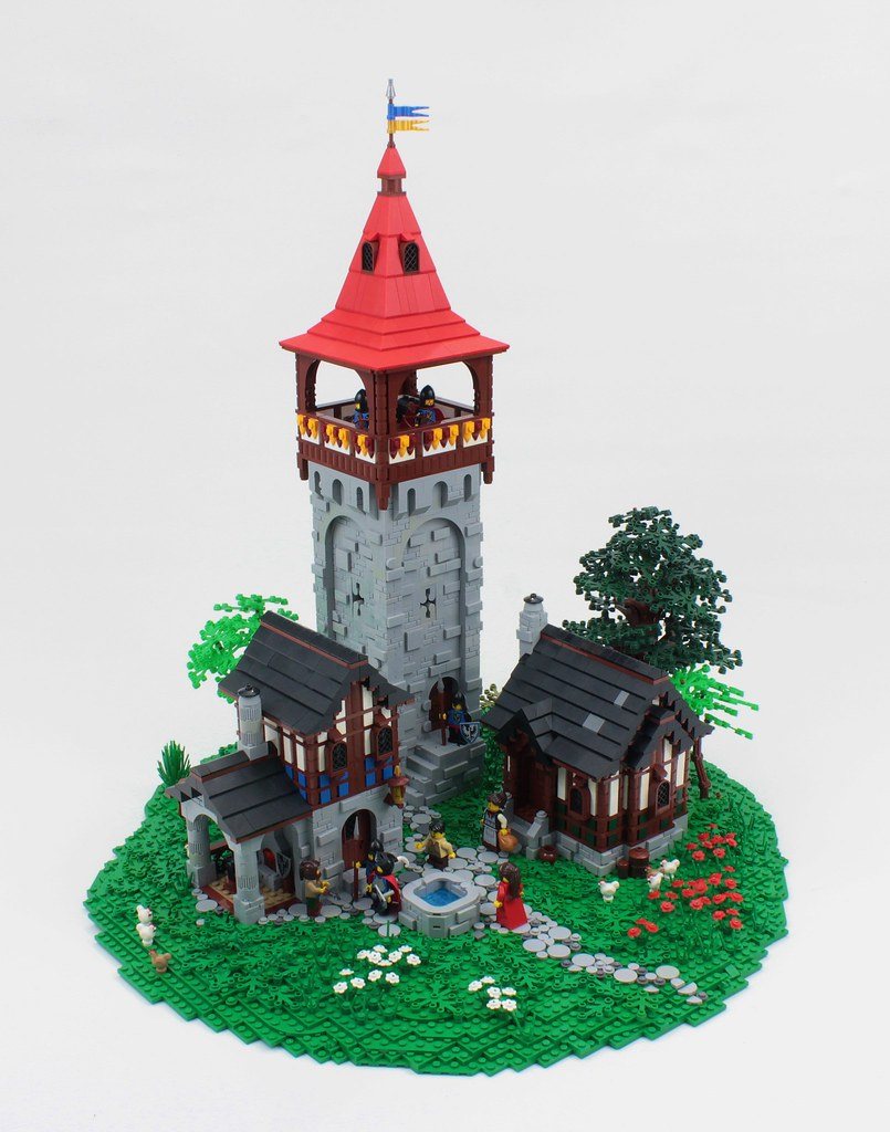 Greystoke Tower (custom built Lego model)