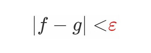 数学 無限小 infinitesimal