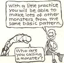 Model a Monster
