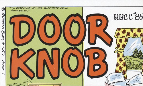 Runnin Bare #0557: Door Knob - Amity, Oregon