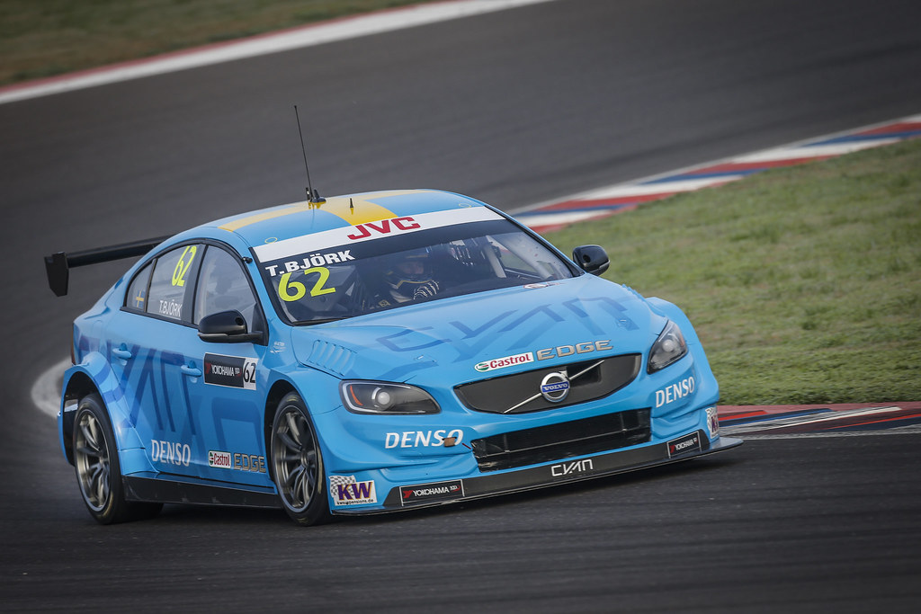 62 BJORK Thed (swe) Volvo S60 Polestar team Polestar Cyan Racing action during the 2017 FIA WTCC World Touring Car Race of Argentina at Termas de Rio Hondo, Argentina on july 14 to 16 - Photo Francois Flamand / DPPI