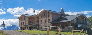 Plattkofelhütte, 2.300 m, Marmolata, 3.343 m