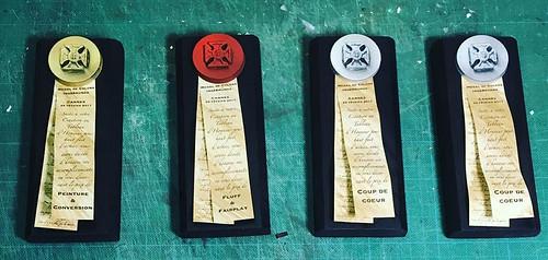 Medal of Colors trophy
