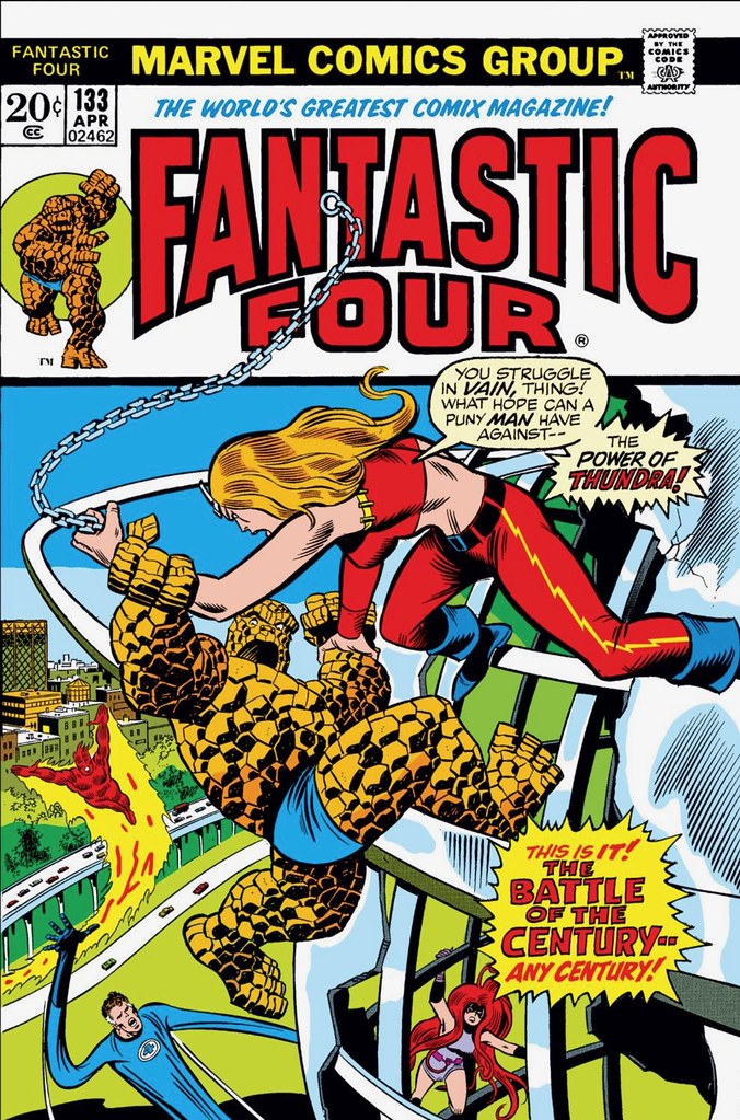 Fantastic Four 133 digital color Buscema Sinnott