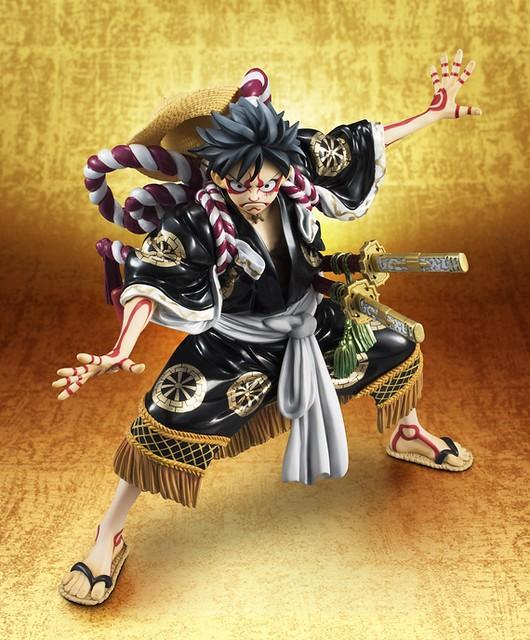 熱烈好評再登場~ Portrait.Of.Pirates 《海賊王》KABUKI EDITION 蒙其・D・魯夫【再演】ワンピース