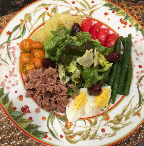 At Home:  Salade Niçoise