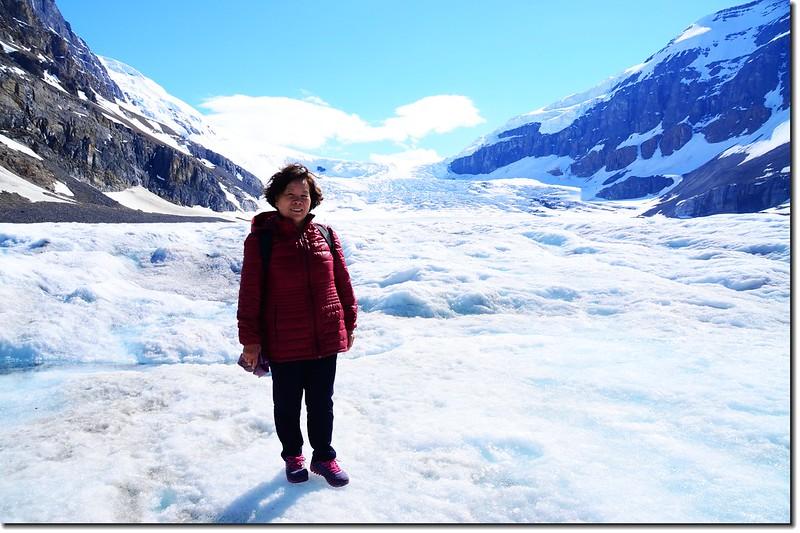 On Athabasca Glacier (3)