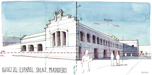 Nave del español, Matadero Madrid