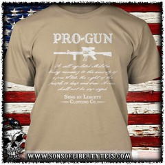 Pro-Gun Second Amendment T-Shirt.