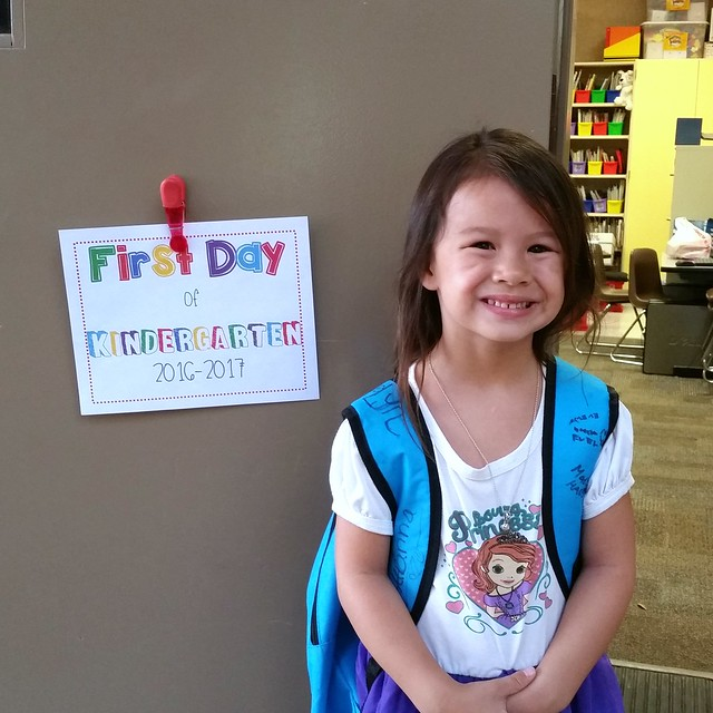 Evelyn's Kindergarten Year | shirley shirley bo birley Blog