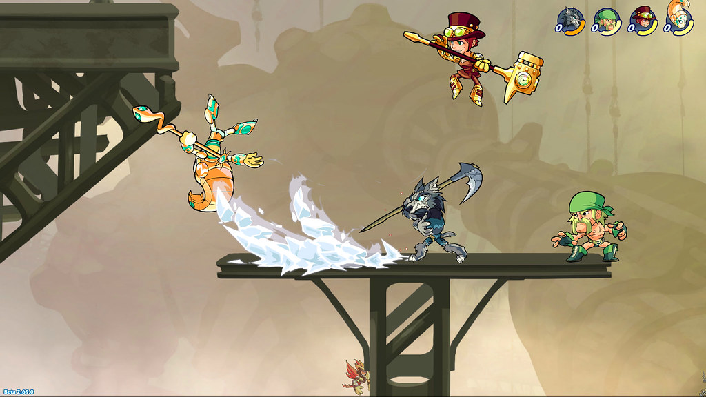 PS4 multiplayer battler Brawlhalla gets cross-play with PC on