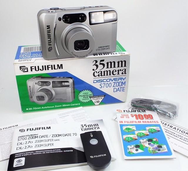 Fujifilm Discovery S700... 1998, Fujifilm FinePix S9900W S9950W