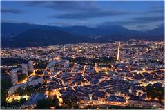 Grenoble à l'heure bleue, centre :copyright: Bernard Grua