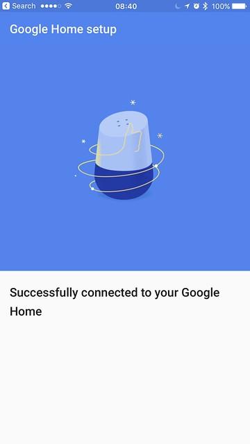 Google Home iOS App - Setup #4