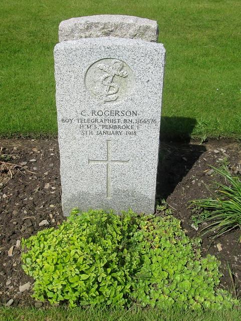 Boy Telegraphist, Lyness War Cemetery