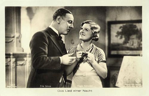 Fritz Schulz and Magda Schneider in Das Lied einer Nacht (1932)