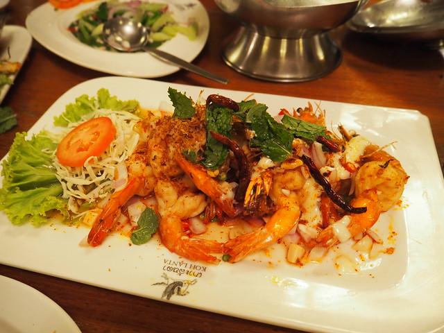 P6243742 Koh Lan Ta Restaurant & Karaoke at Suvarnabhumi thailand bangkok タイ バンコク