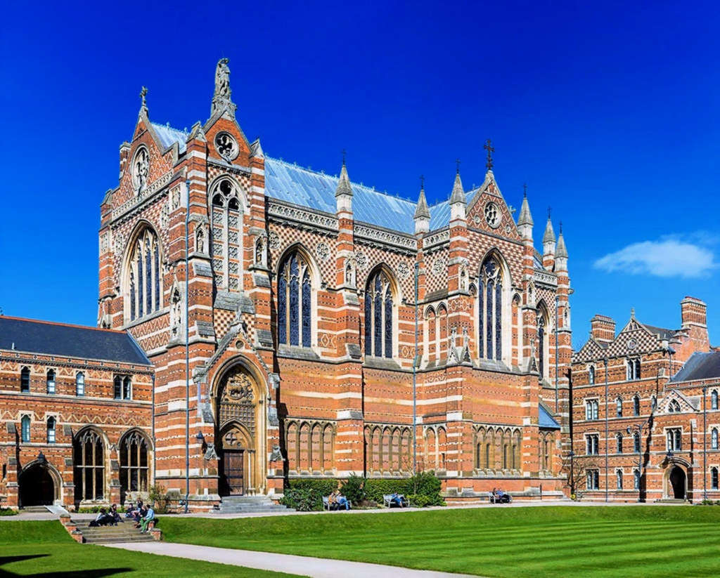 Keble College Chapel, Oxford. Credit David Iliff
