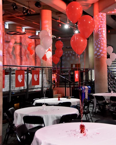 The Underground decorated for the Sizzlin' Success Celebration