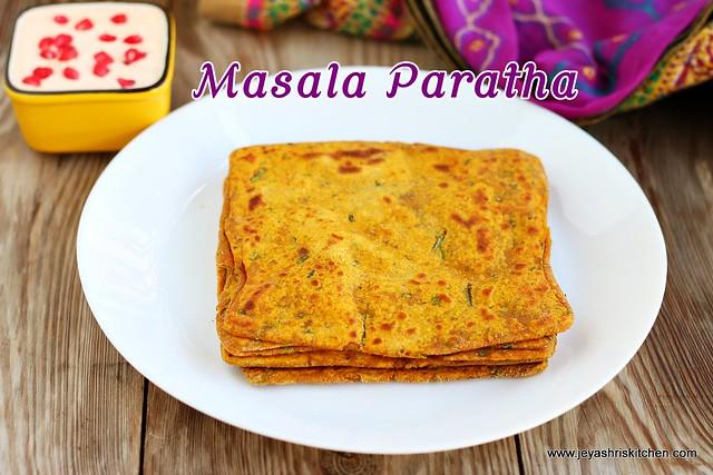 Square-paratha