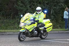 BMW motorbike of Staffordshire Police