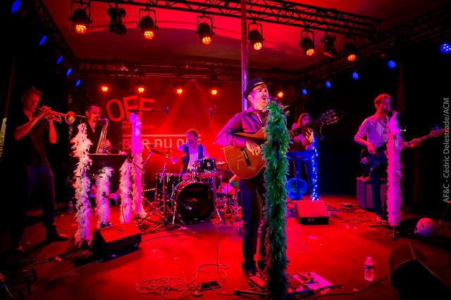 Concert des Bandits Manchots au Village du #OFF17
