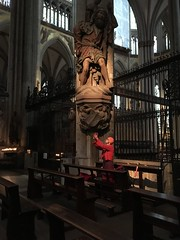 Photographer in Cologne Cathedral