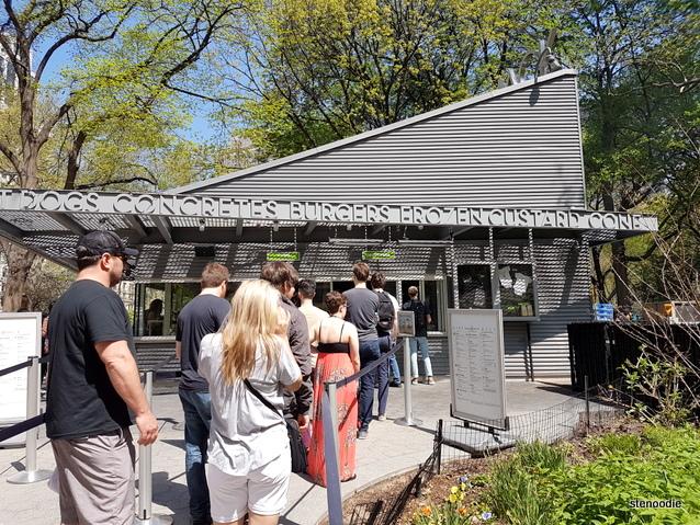 Shake Shack burgers Line-up
