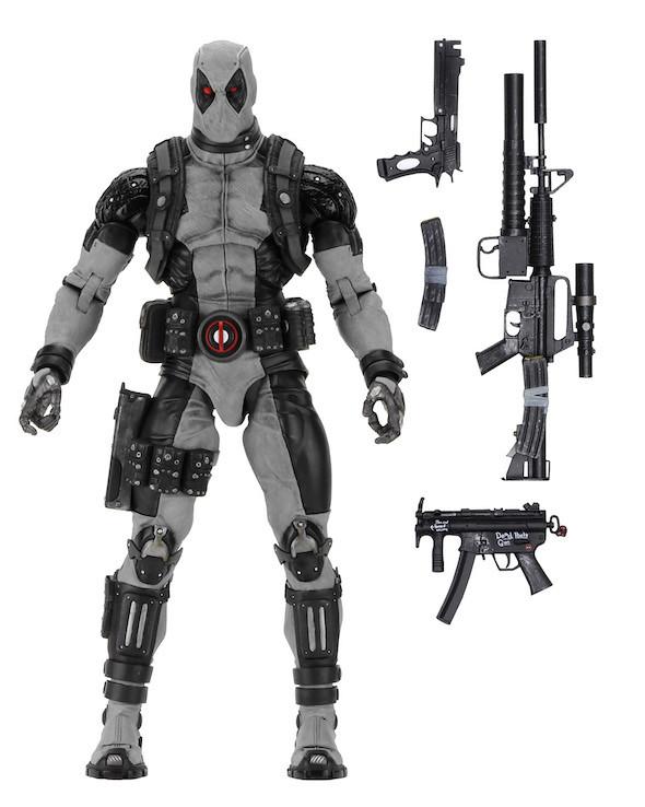 不管是經典紅黑配、還是時尚黑灰配,都一樣超北爛啦!!NECA MARVEL 系列【死侍 X-Force 版】X-Force Deadpool 1/4 比例可動人偶作品