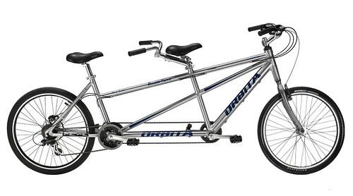 चित्र ७: प्रौढांची टँडेम सायकल