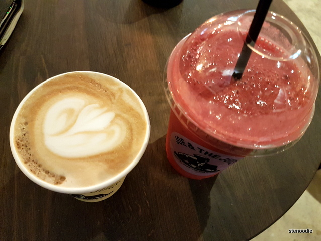 Latte and Beetroot Smoothie