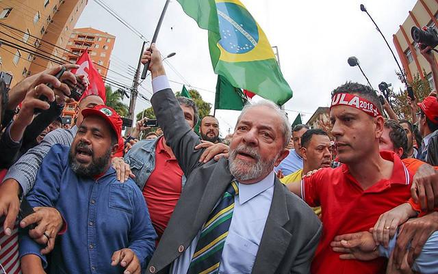 Lula na ocasião de seu depoimento ao juiz Sérgio Moro em Curitiba (PR) - Créditos: Ricardo Stuckert