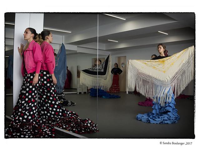 La enseñanza de la escuela sevillana de baile flamenco en la Fundacuín Cristina Heeren, por Sandra Boulanger