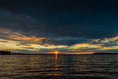victoria harbor ontario canada goergian bay water lake sunset sky clouds sun evening amazing beautiful scenery scenic outdoors summer nikon d750