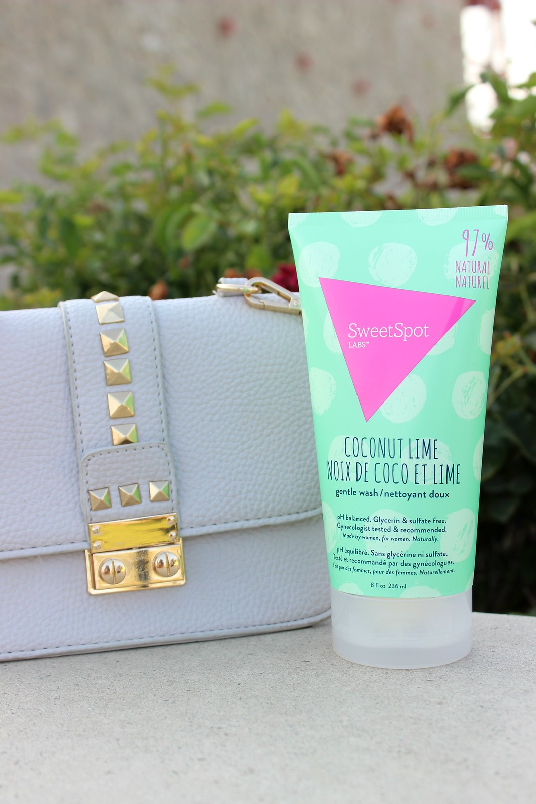 SweetSpot Labs Coconut Lime Gentle Wash and On-The-Go Wipes #sweetspotlabs #mysweetspot