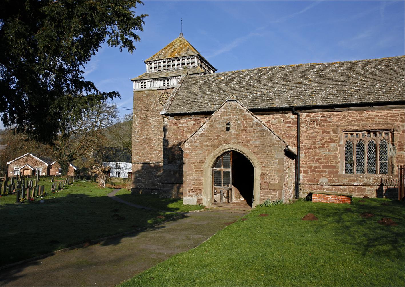 Monmouthshire, SKENFRITH, St Bridget (Brian Woodruffe)