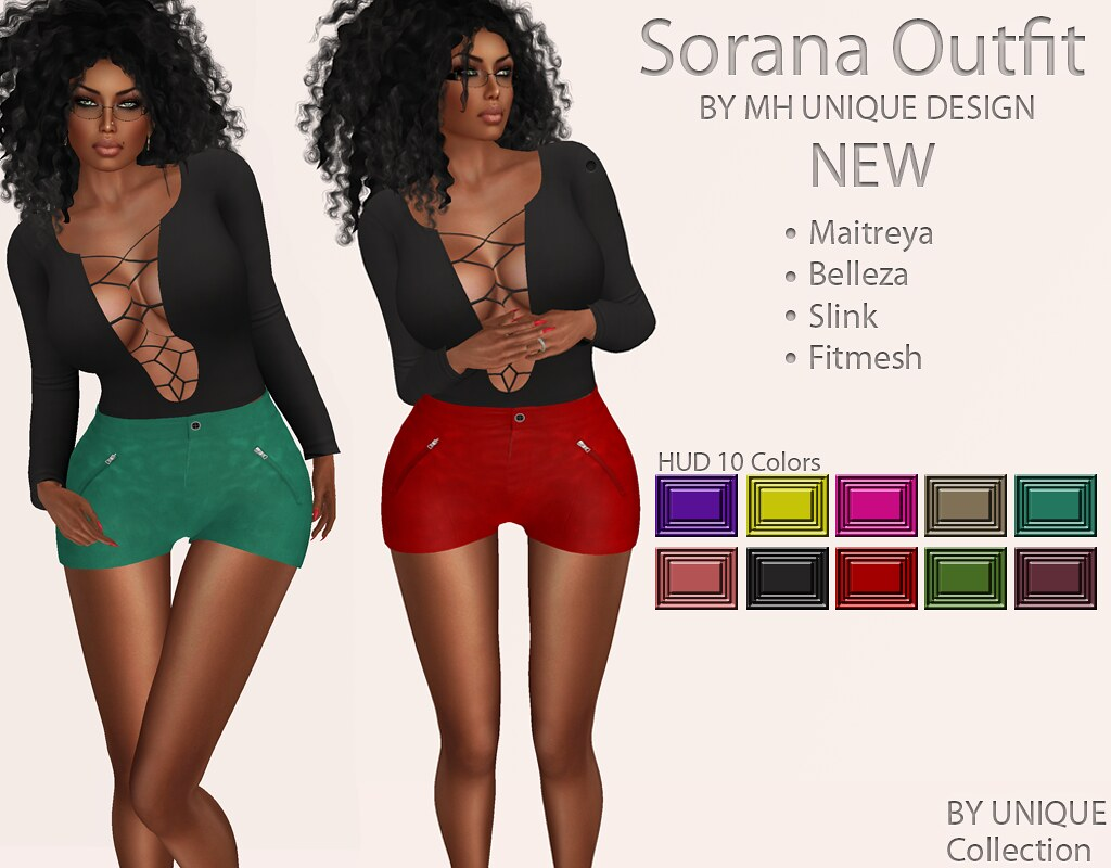 MH-Sorana Outfit Collection - SecondLifeHub.com