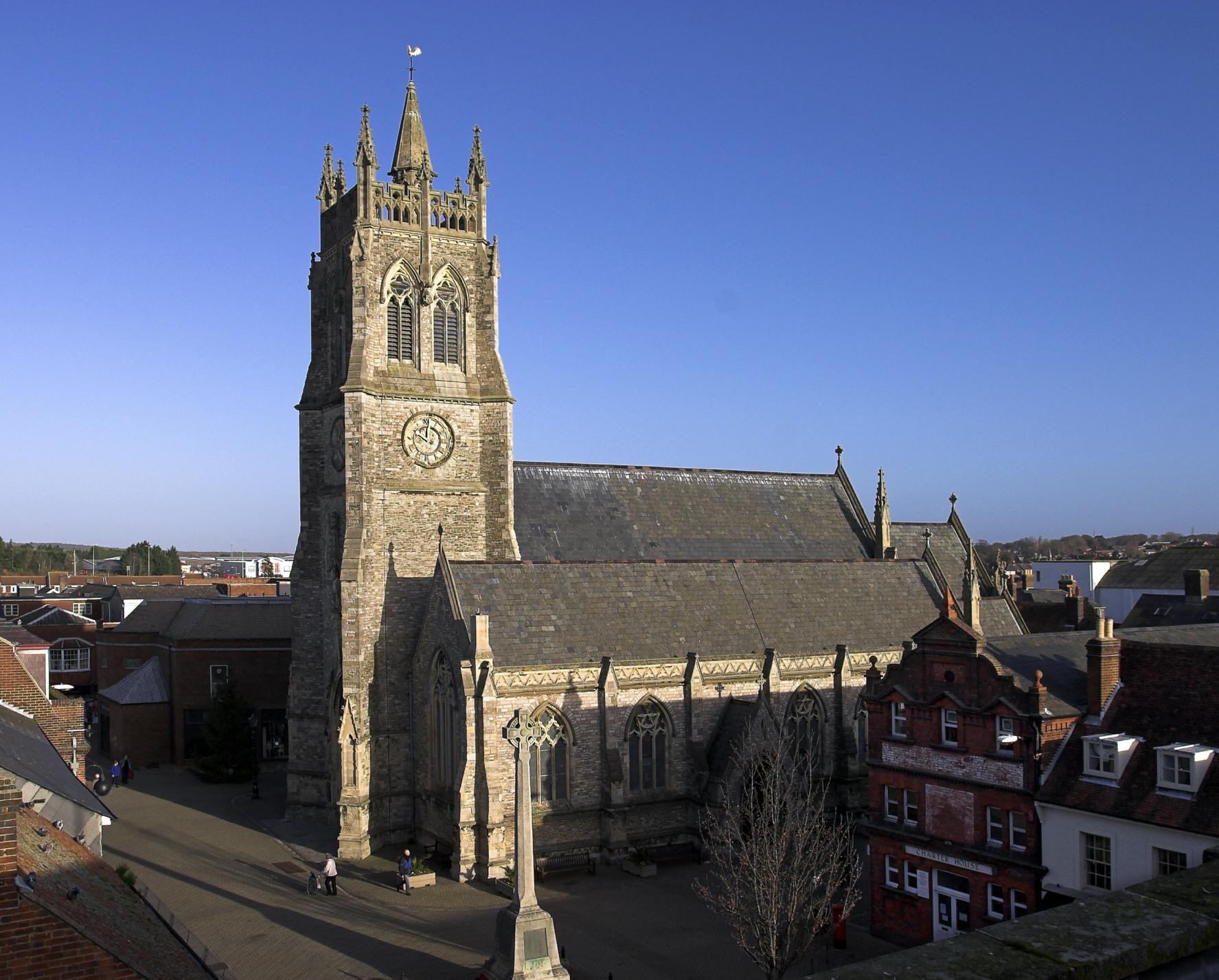 Isle of Wight, NEWPORT, Minster Church