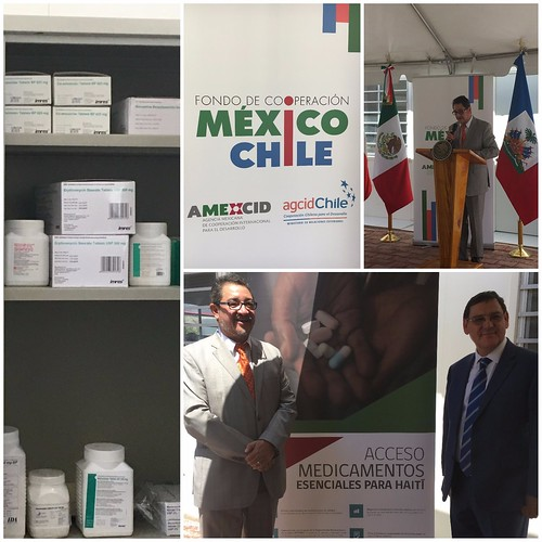 México y Chile apoyan a Haití en el acceso y uso racional de medicamentos esenciales
